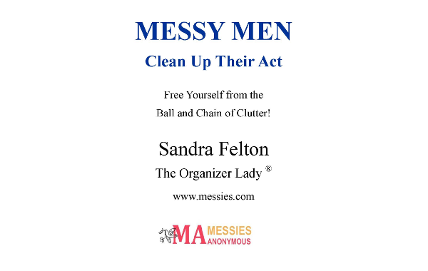 Messy Men Clean Up Their Act – ebook